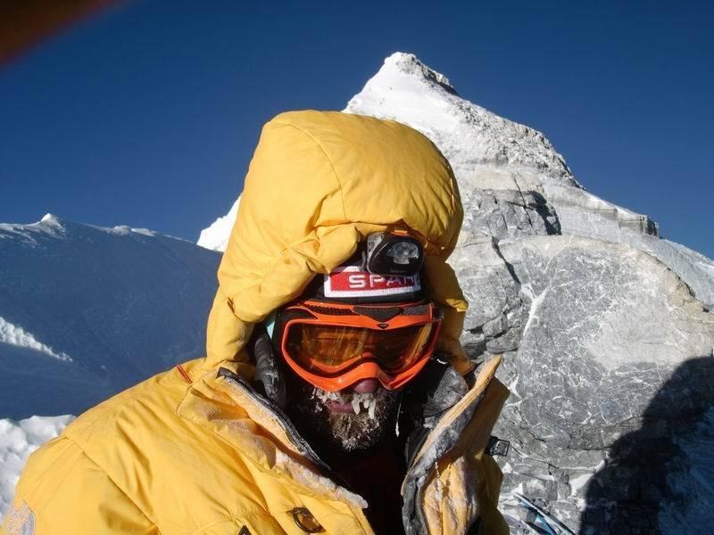 Dávid az Everesten 2014-ben
