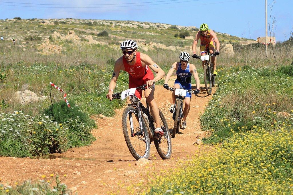 Xterra Malta triatlon mezőny.