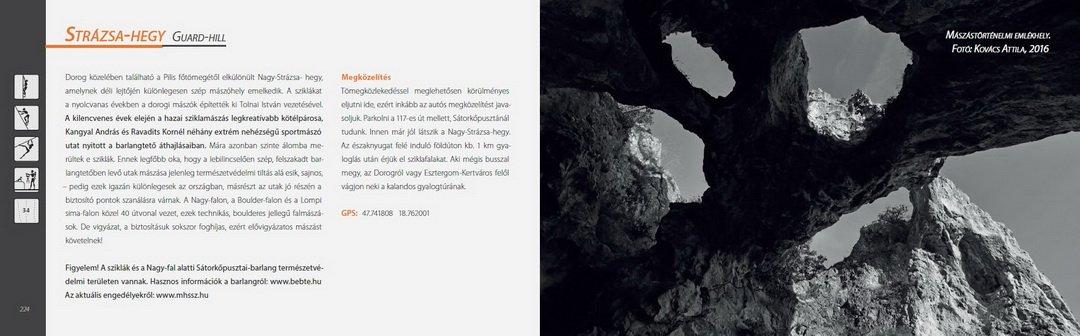 Dunazug szikláin mászókalauz 2016