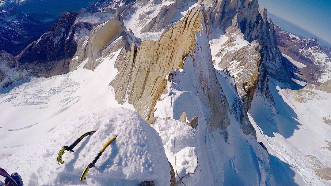 A Cerro Pollone csúcsa