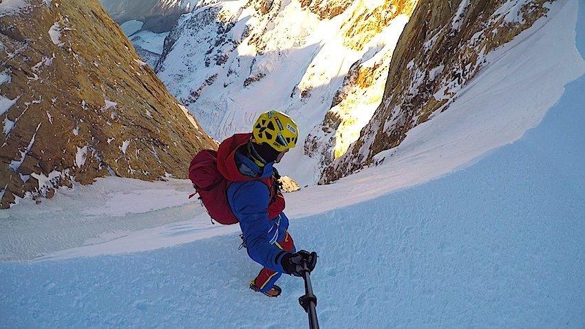Col de la Esperanza a Cerro Torrén, Markus Pucher 2015