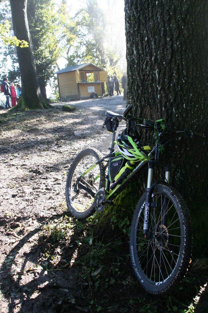 Kerékpárral is feljuthatunk ide