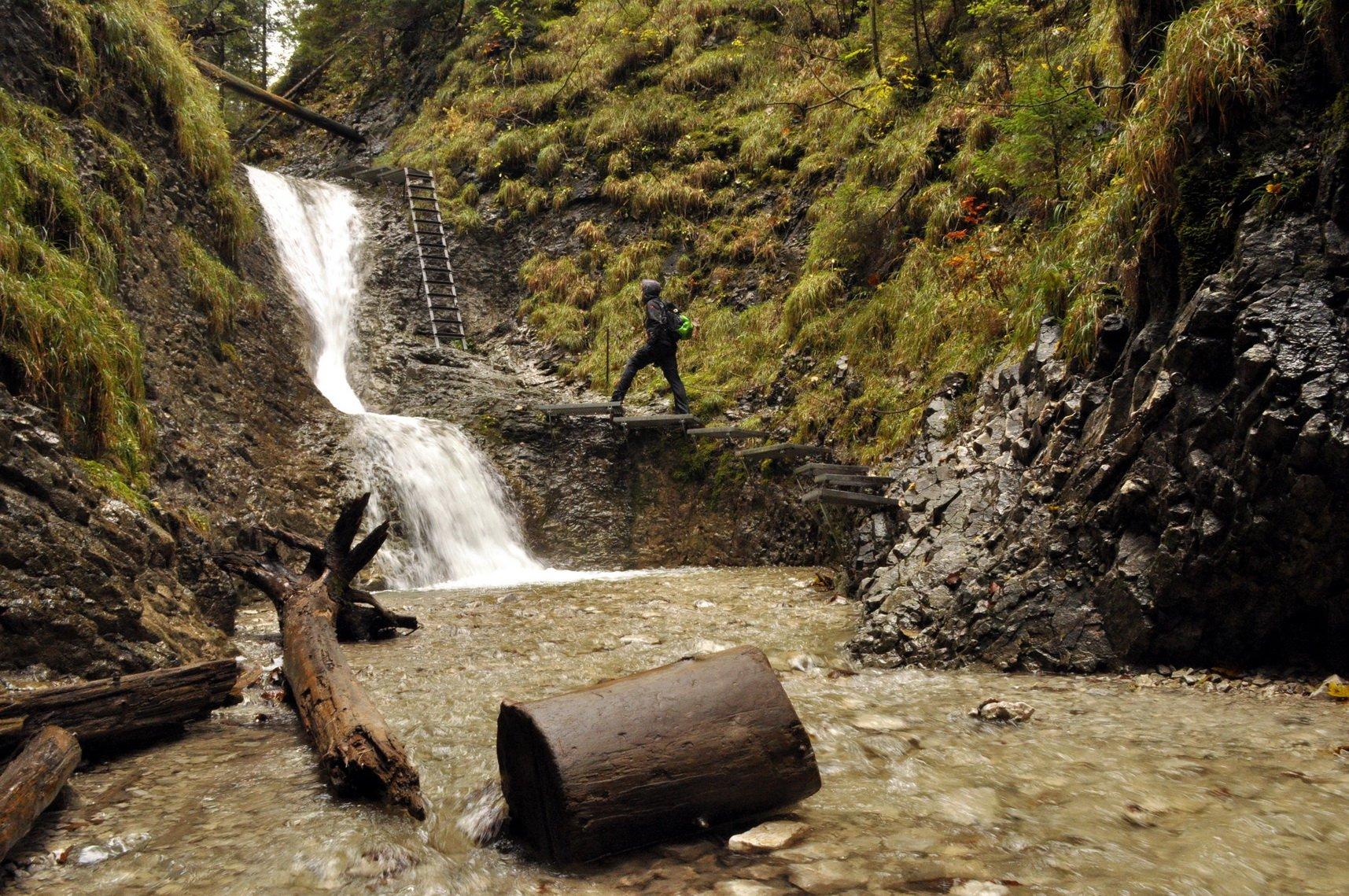 A magas vízállásnak köszönhetően nem csak kalandban, hanem fenséges látványban is részünk volt