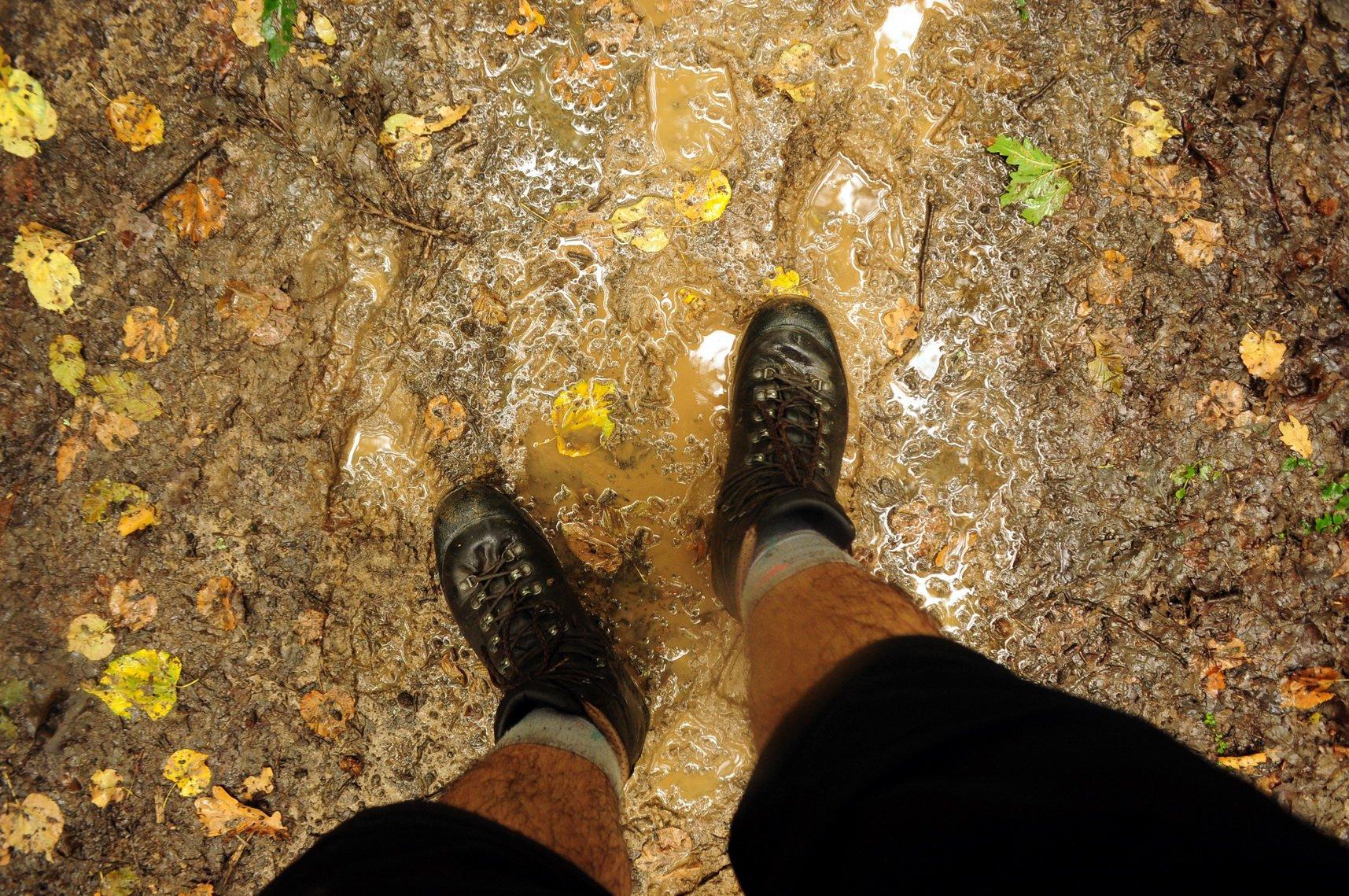 Nem kell patak átkelés, hogy lábbelink vizes legyen