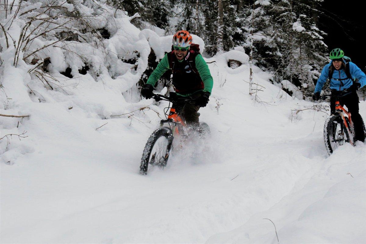 Ebike Snow Tour