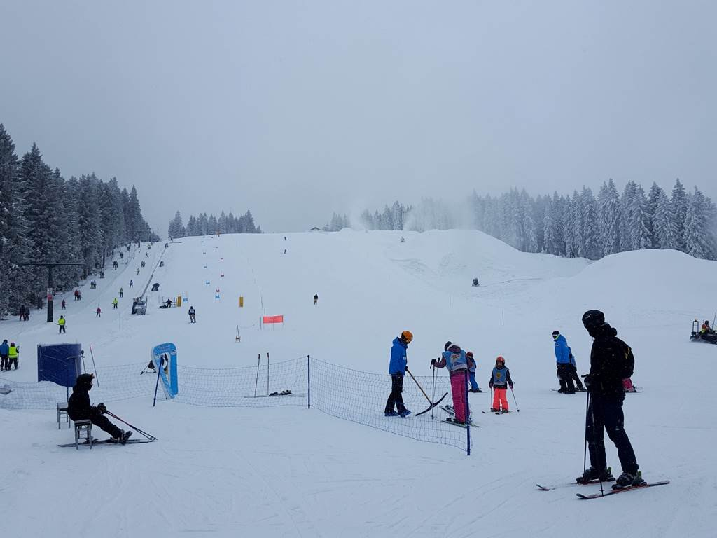 A legtöbb és legjobb minőségű havat Roglán találtuk