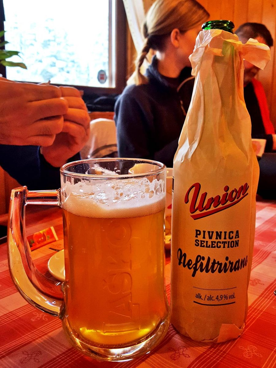 Szüretlen Union sör, a társaság nagy kedvence