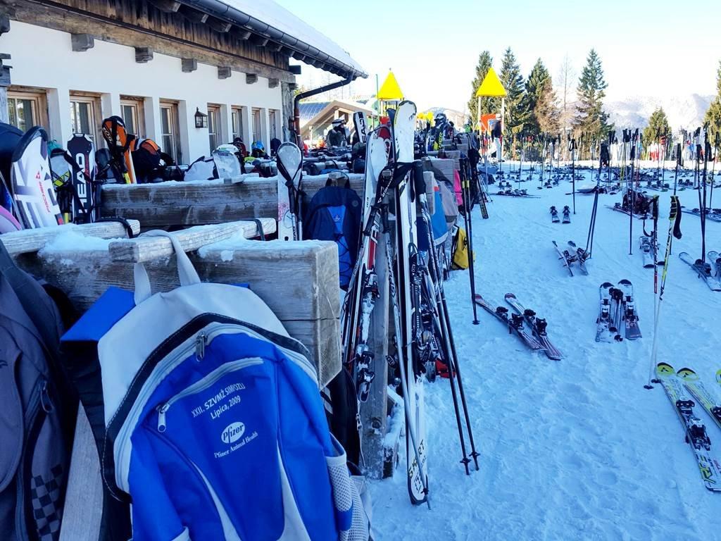 Alpska Perla a sízők kedvence