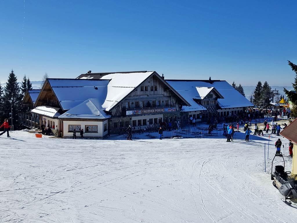 Alpska Perla alpesi hütte étteremmel és szállással
