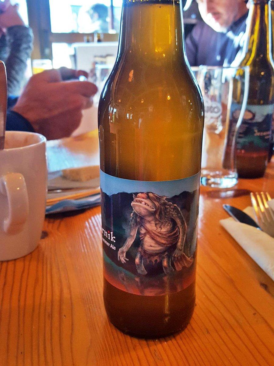 A híres bohinji szörny sör! :)