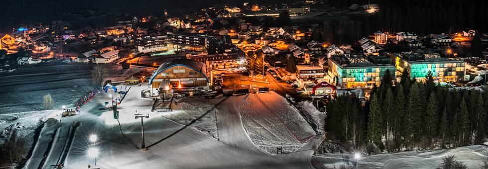 Nassfeld - 90 cm-es hó borítja a síterepet!