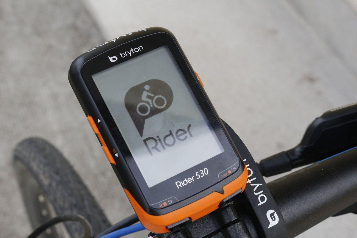 Bryton Rider 530 bekapcsolás