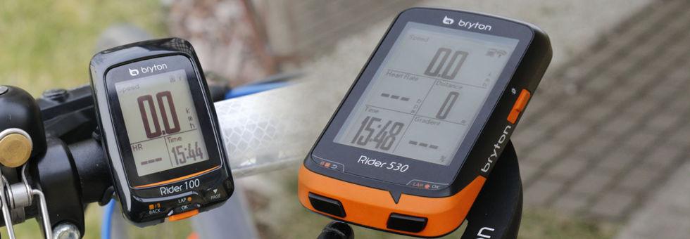 Bryton Rider 100 és Rider 530 teszt