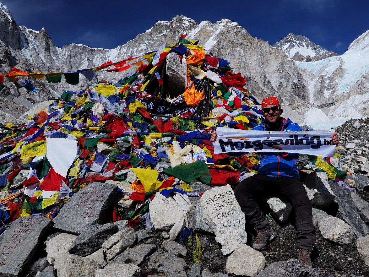 Mozgásvilág az Everest alaptáborában