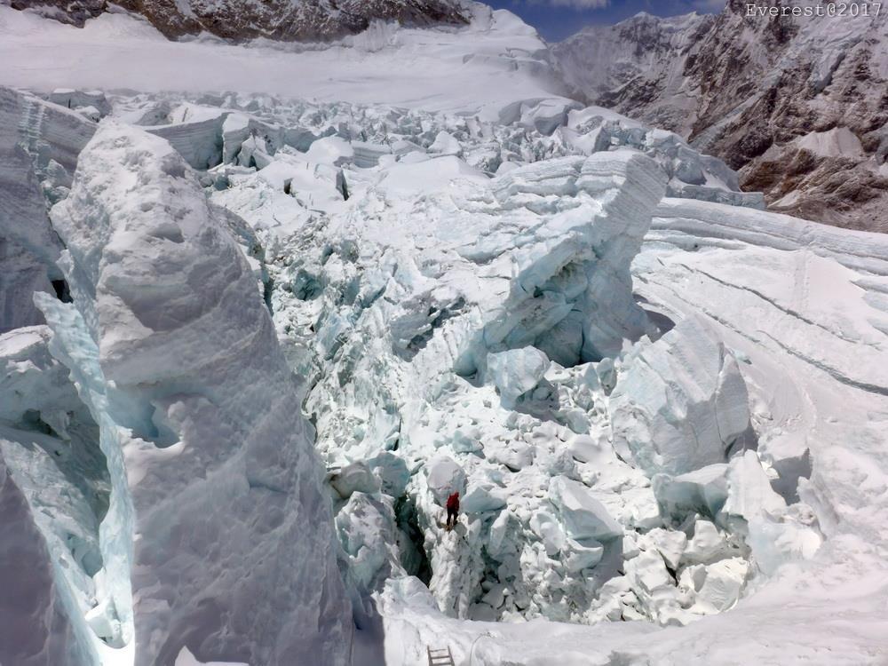 Dávid az Egérfogóban - a Khumbu jéglabirintusa