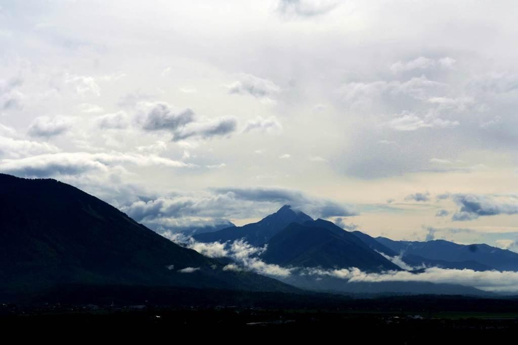 Bled környéki hegyek felhőbe burkolózva