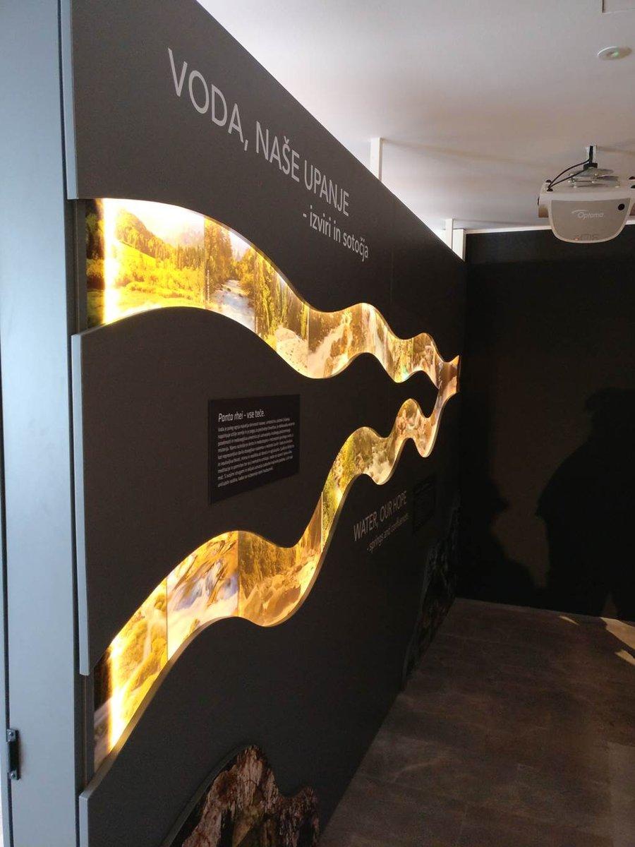 Kiállítás a Bledi Turisztikai Hivatalban