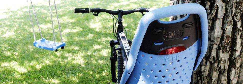 Thule Yepp Maxi kerékpáros gyerekülés teszt