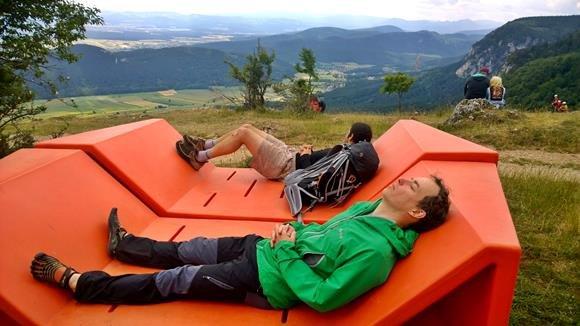 Pihenő a Hohe Wand-on