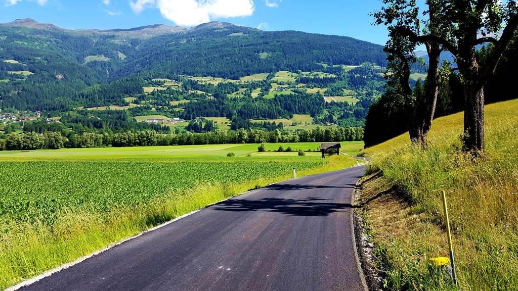 A Dráva menti kerékpárút teljesen frissen aszfaltozott szakasza