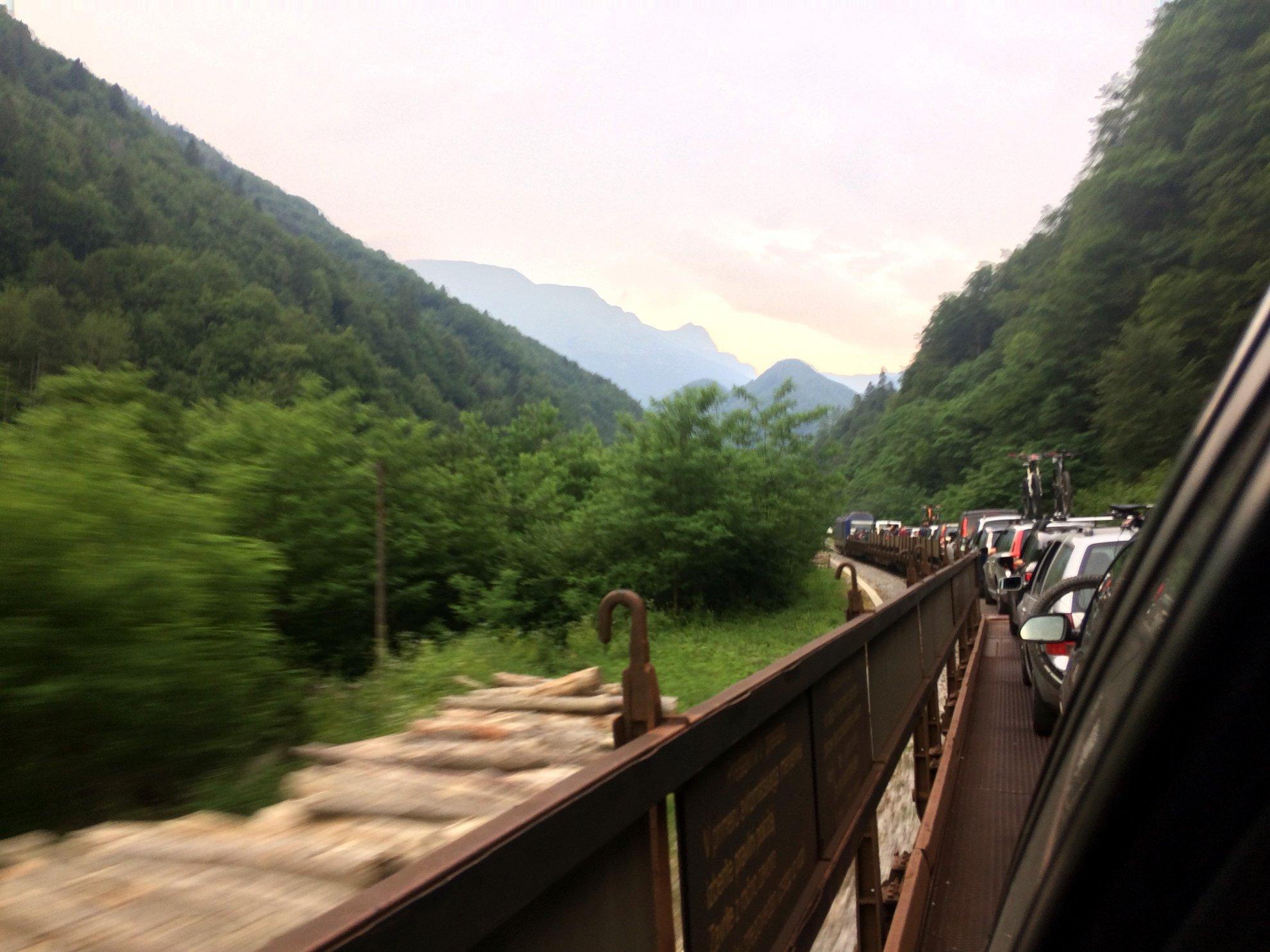 2 nap - Ülünk a vonaton és kész