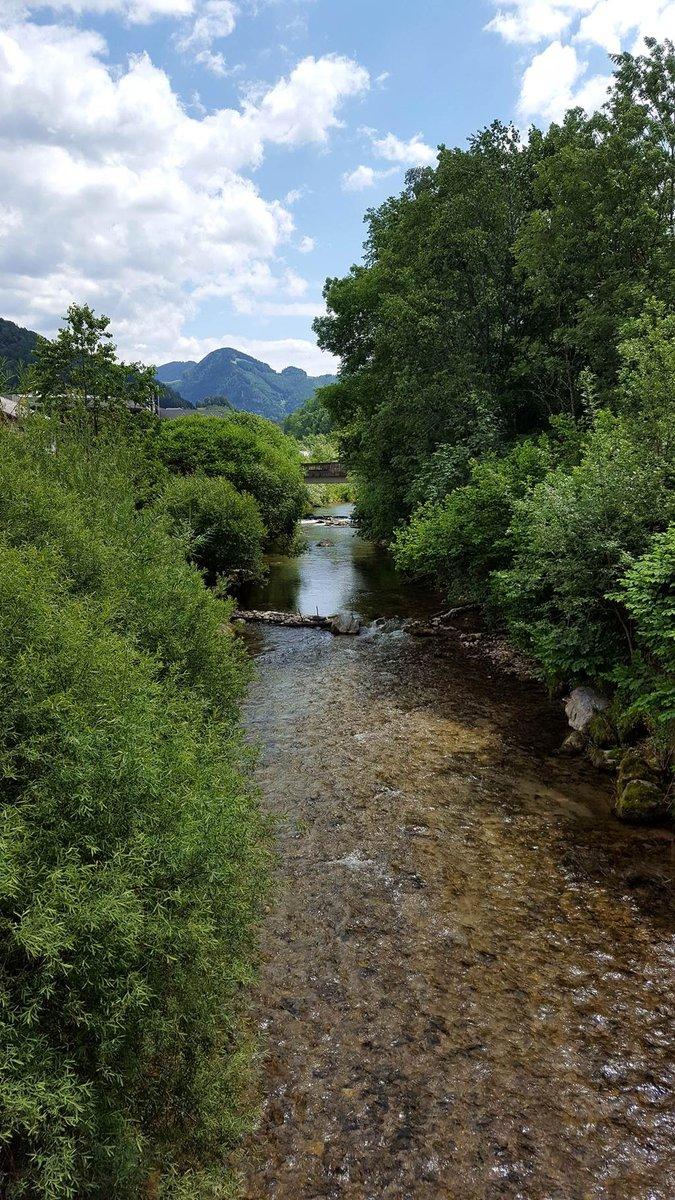 Kristálytiszta patak ömlik az Ybbs-be