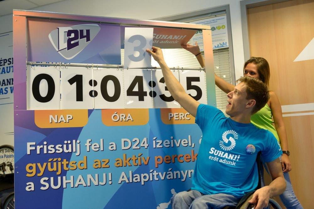 A nagy D24 kihívás – Suhanj! Fitness nyílt nap