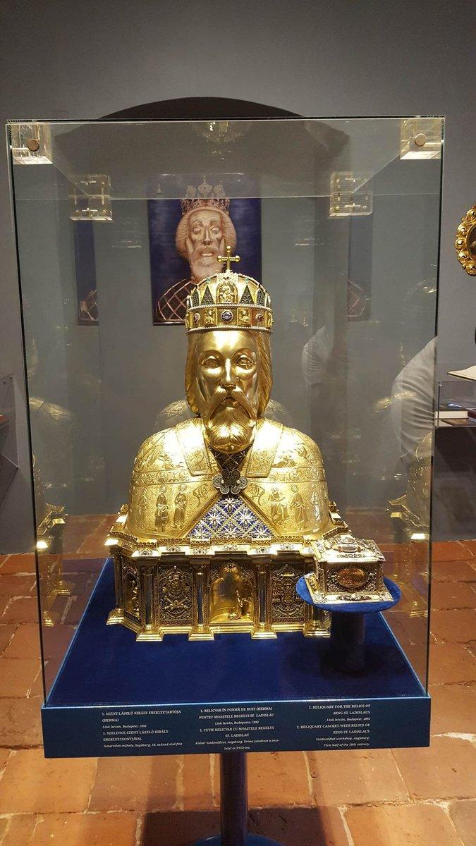 Szent László király ereklyetartója
