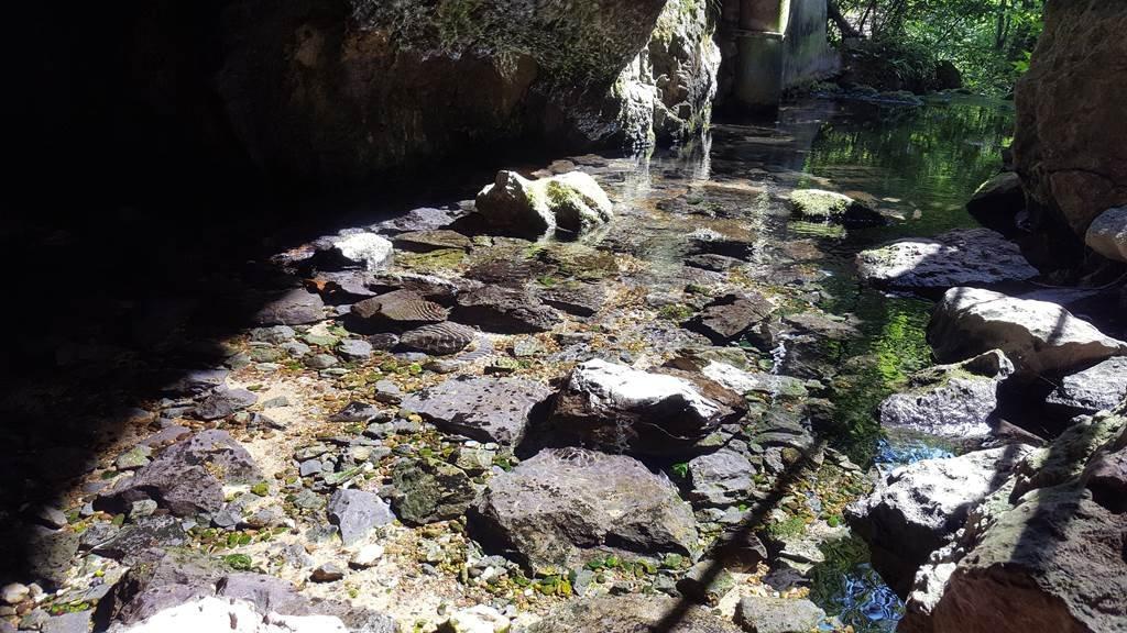 A kristálytiszta barlangi patak