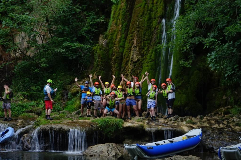 Rafting a Sebes-Körös völgyében