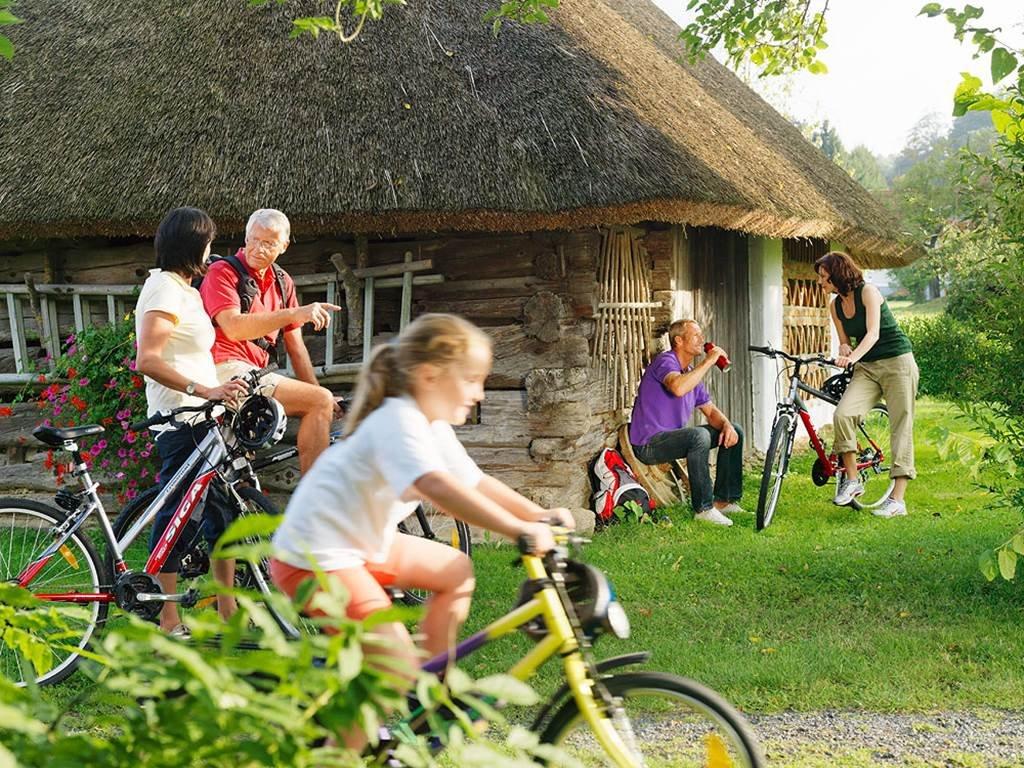 Kerékpártúrák az egész családnak