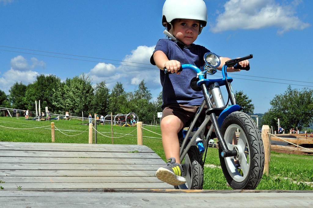 Mini bringapark gyerekeknek és kezdőknek