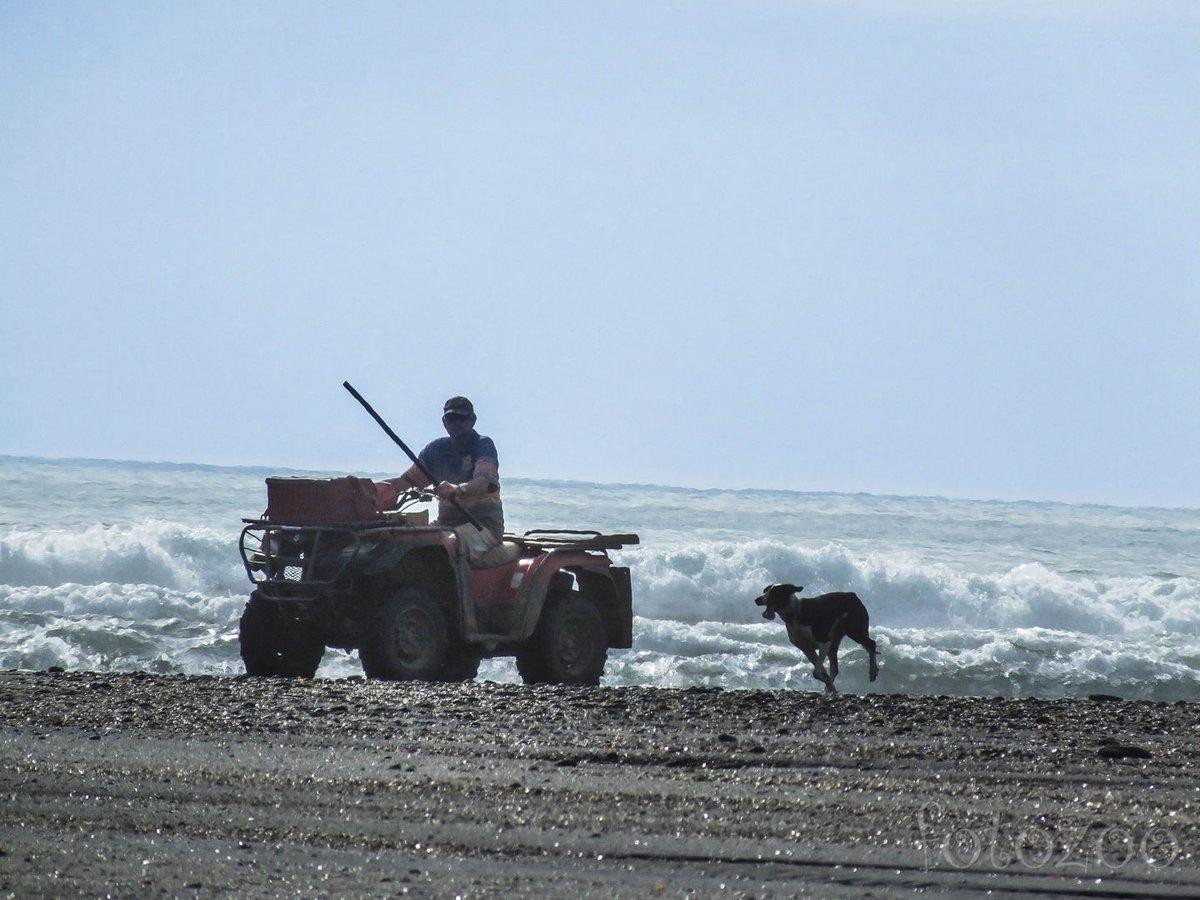 A helyiek sem lubickolni járnak a tengerpartra.