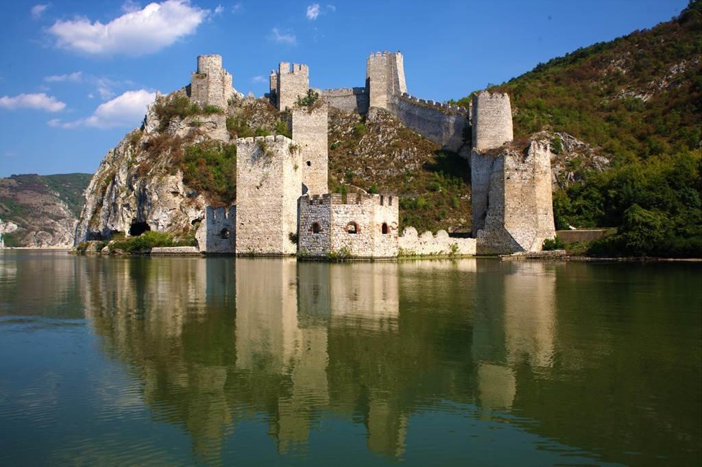 Golubac erőd a Duna mellett