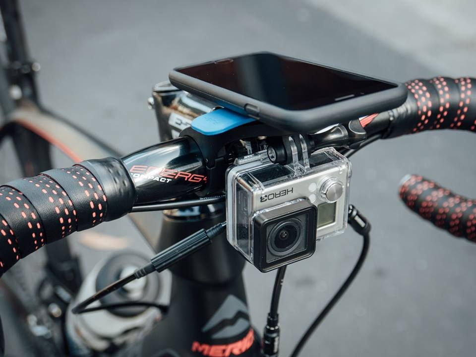 Quad Lock konzol telefonhoz és akciókamerához