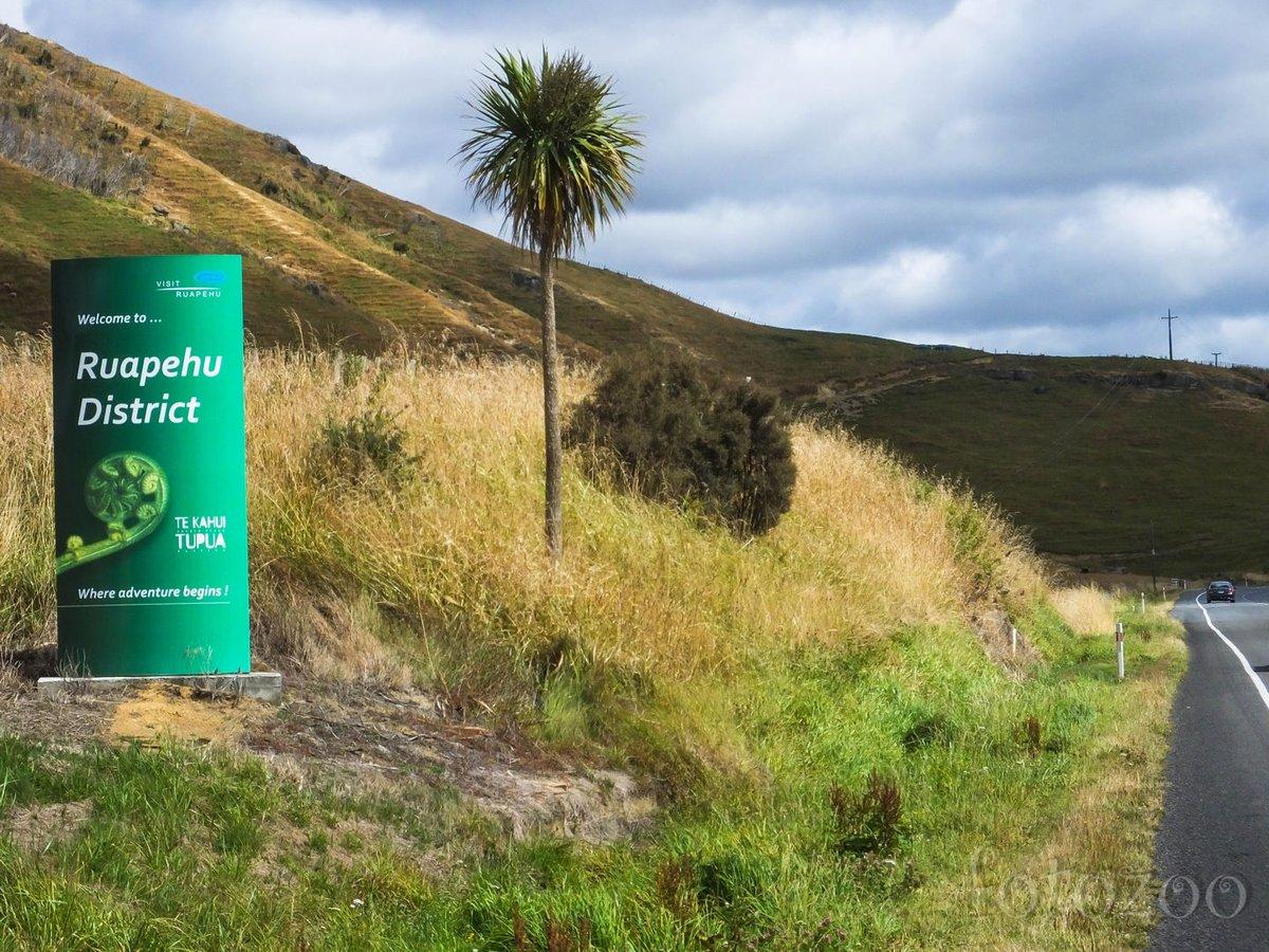 Megérkeztünk a Hegyistenek birodalmába, elsőként Ruapehu köszönti az erre járókat.