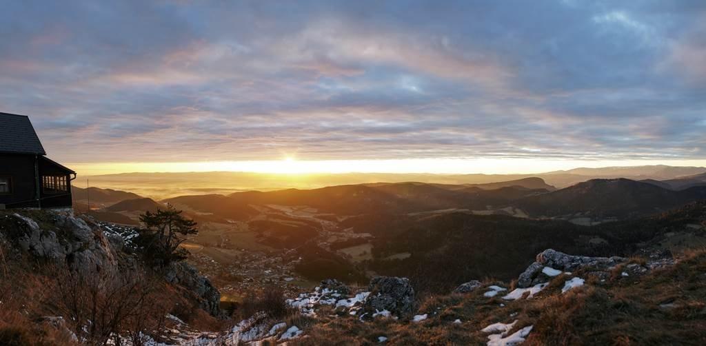 Téli túrák a Bécsi Alpokban a Hohe Wandon is