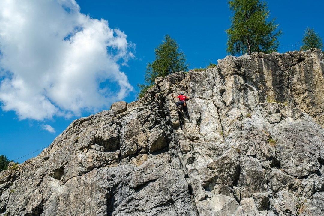 Mászófal a Keltenberg kalandparkban