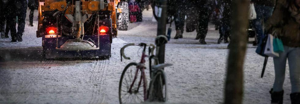 Merre mehetsz bringával, ha esik a hó?