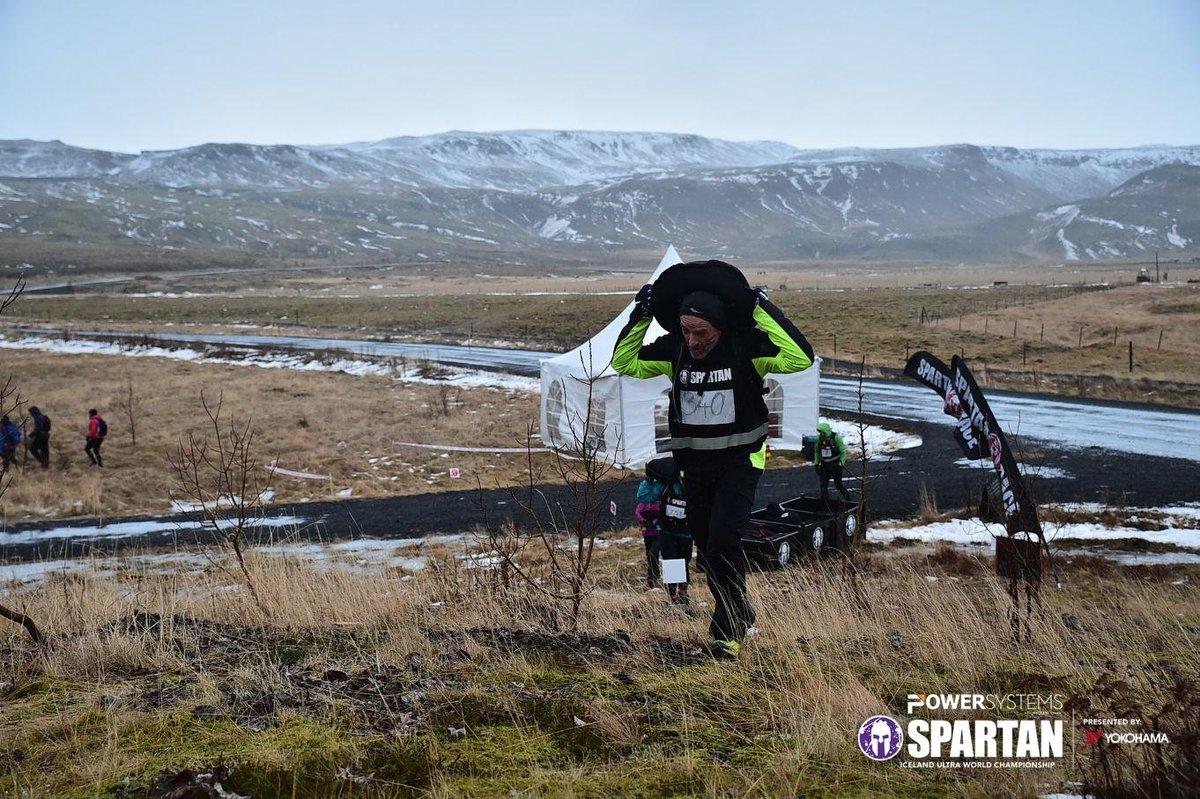Szőnyi Ferenc az izlandi Spartan Race versenyen