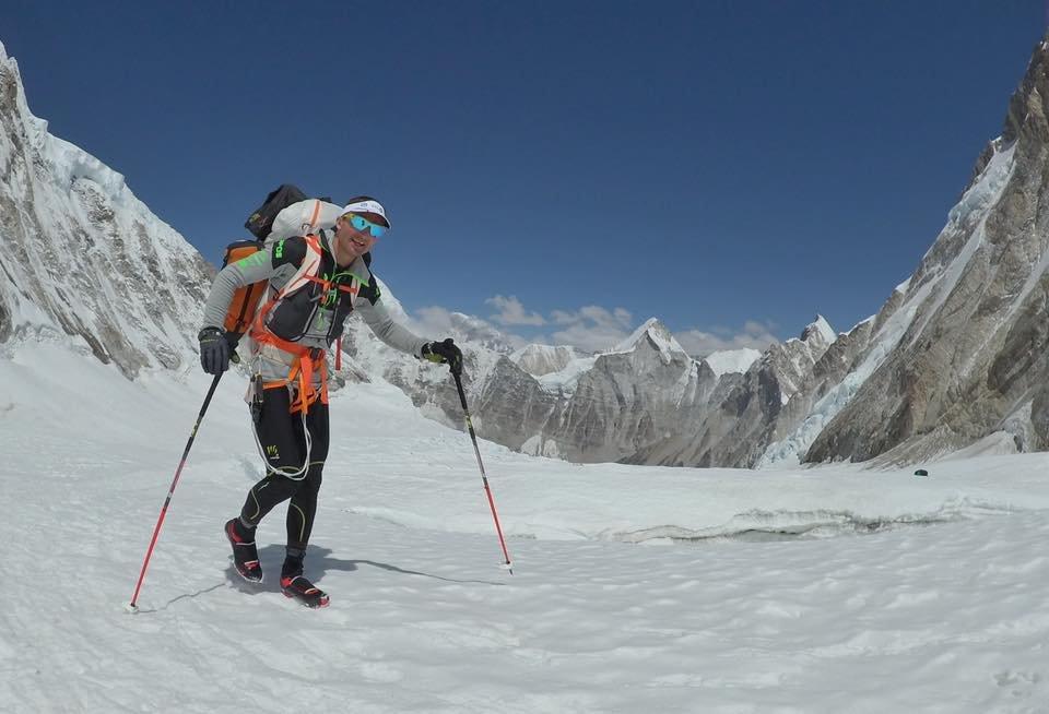 Ueli Steck az Everesten