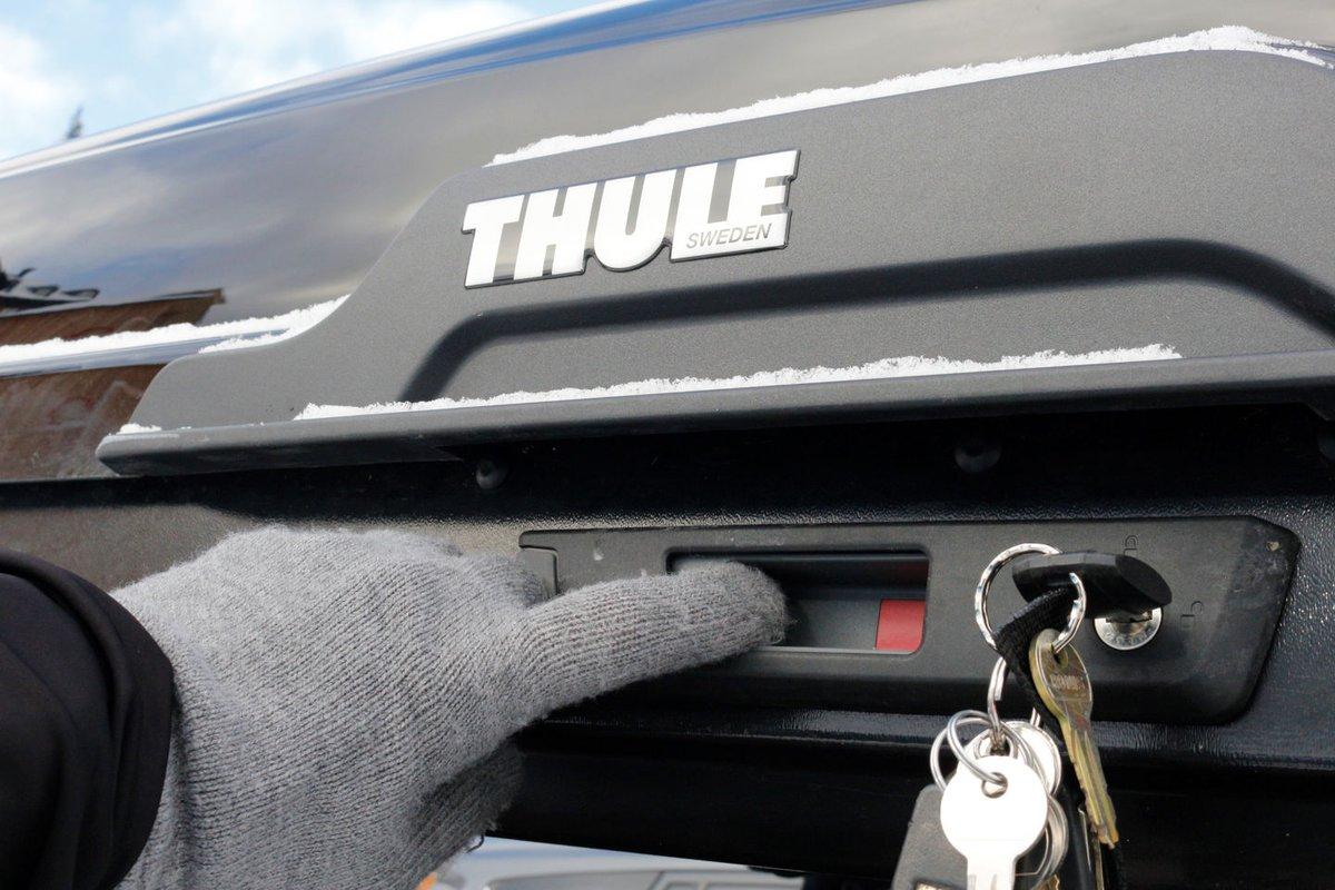 Thule Motion XT Alpine tetőbox nyitás