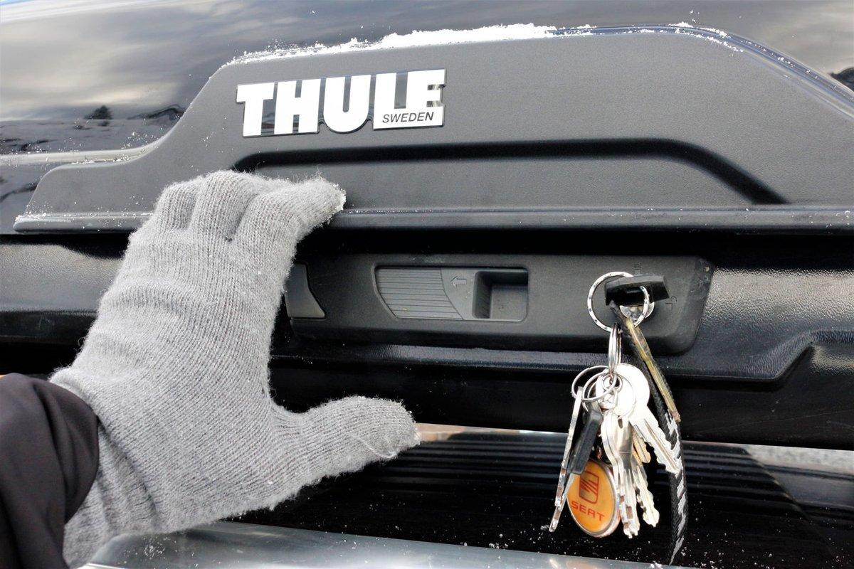 Thule Motion XT Alpine tetőbox bezárva