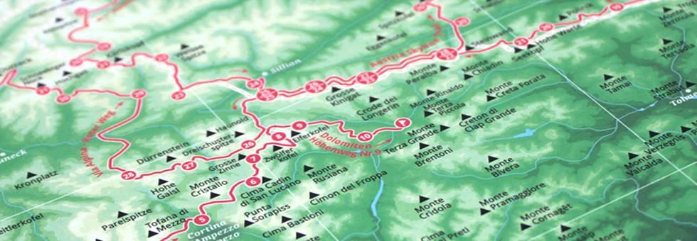 Marmota Maps - az Alpok egyedi túraútvonal- és síterep térképe