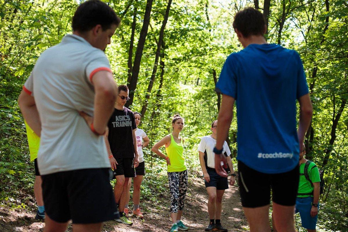 Terepfutó edzés - Mozgásvilág Tesztnap 2018