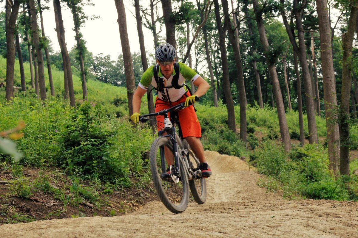 Hohe Wand Wiese trailcenter a bécsi erdőben