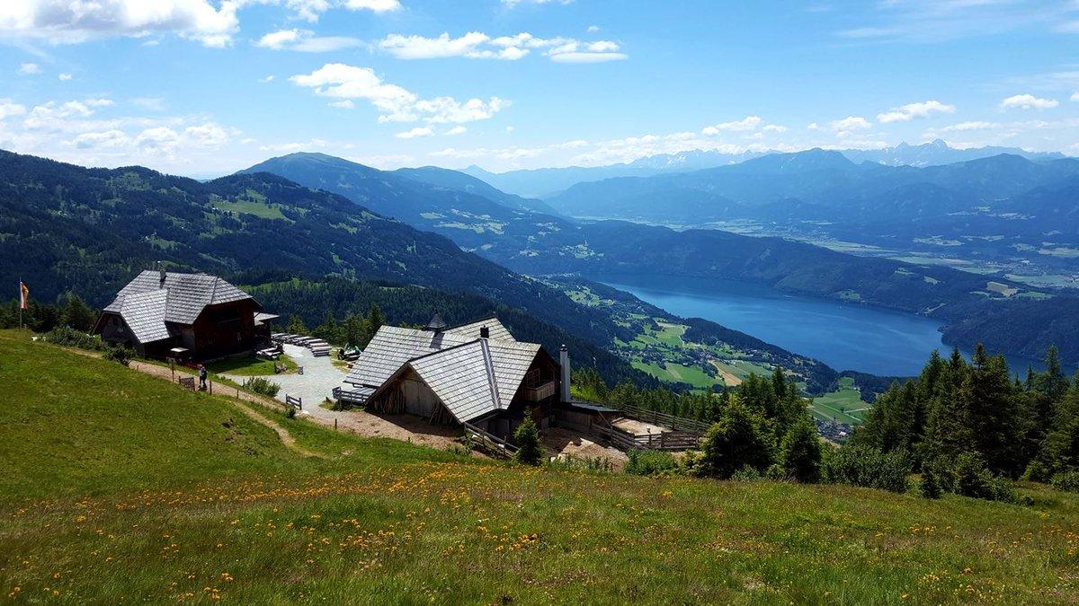Az Alexanderhütte és a Millstatti-tó alattunk