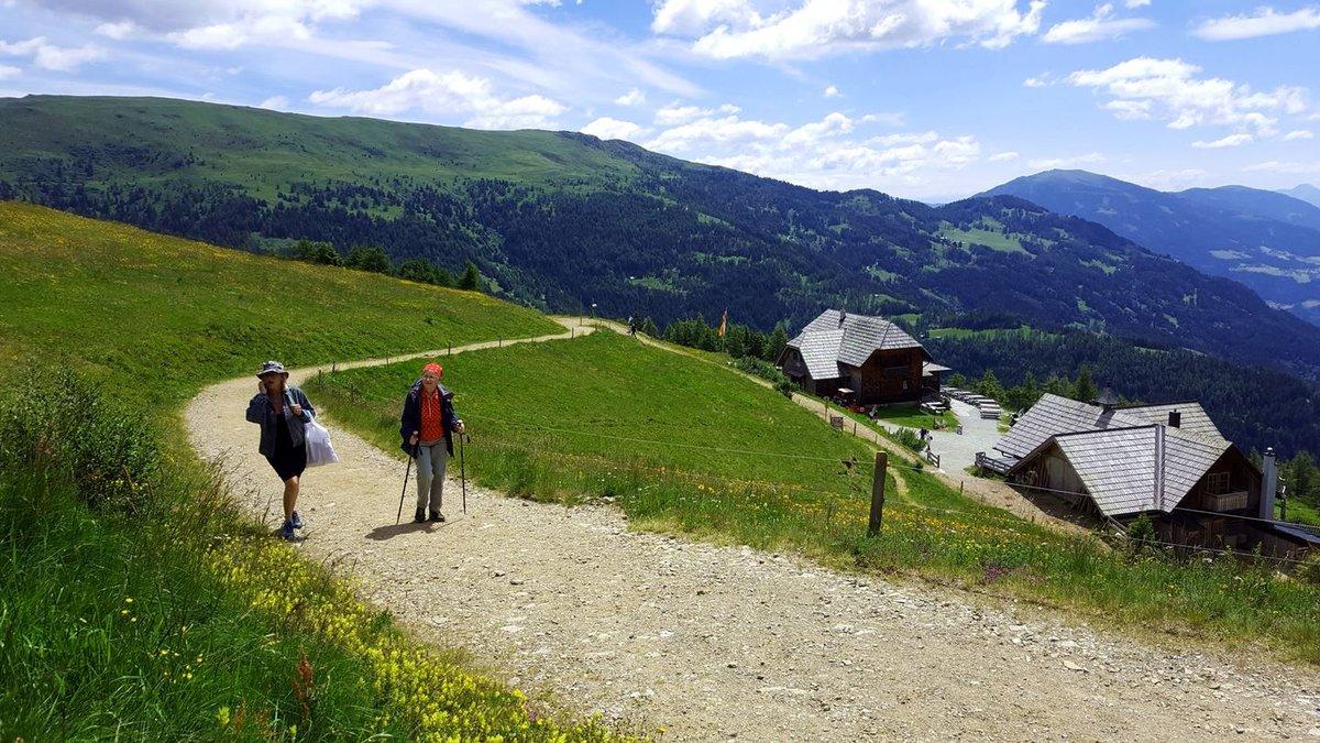 Ez az útvonal igen népszerű a túrázók körében