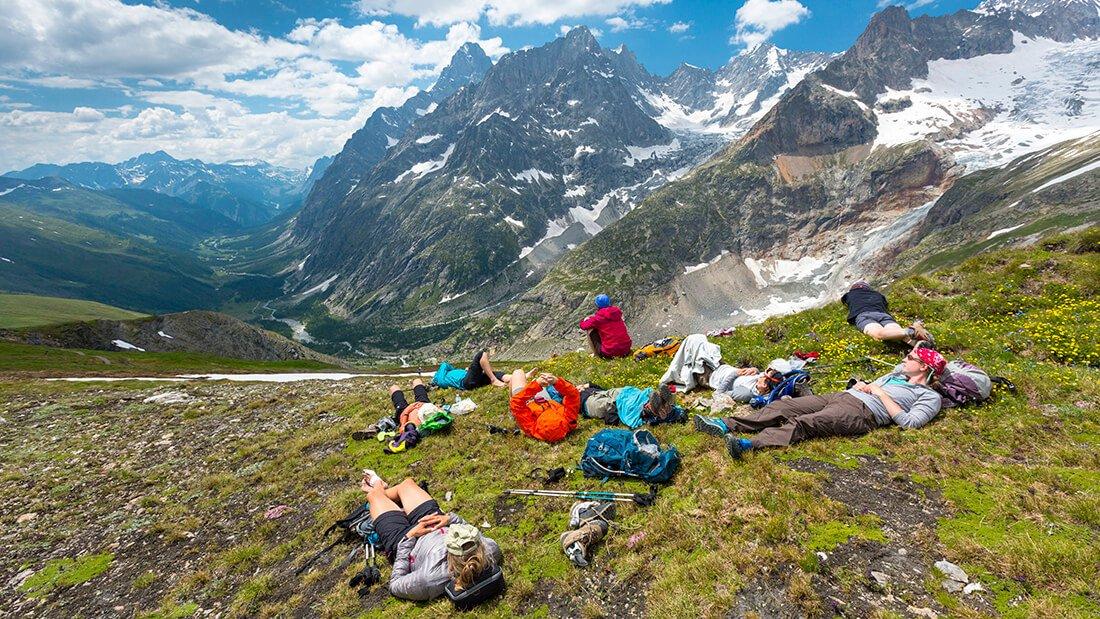 Tour de Mount Blanc