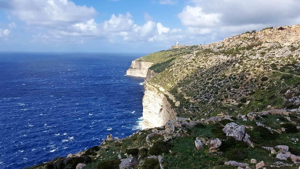 Kerékpártúra kilátással Málta szigetén